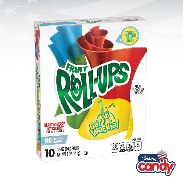 Betty Crocker Fruit Roll Ups Blastin' Berry