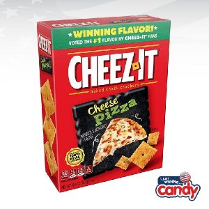 Cheez It Cheese Pizza Box
