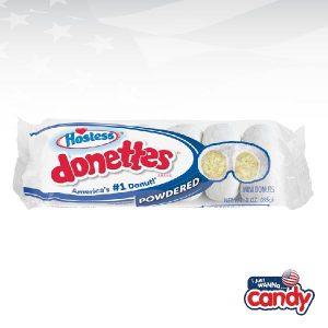 Hostess Donettes Powdered Sugar