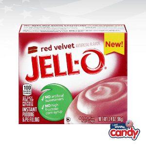 Jell-O Pudding Red Velvet