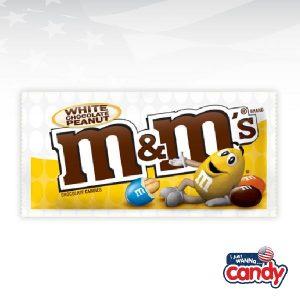M&Ms White Chocolate Peanut Share Size