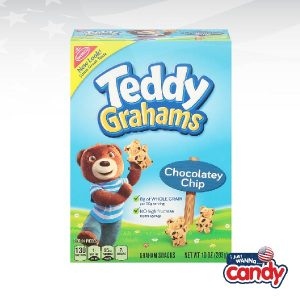 Teddy Grahams Boxed Snacks Chocolatey Chip