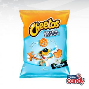 Cheetos Rock Paw Scissors Cheese