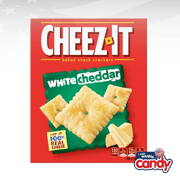 Cheez It White Cheddar Crackers Box