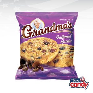 Grandmas Oatmeal Raisin Cookies