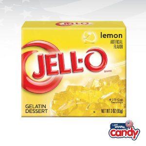 Jell-O Lemon Gelatin
