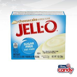 Jell-O Pudding Sugar Free Cheesecake