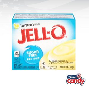 Jell-O Pudding Sugar Free Lemon