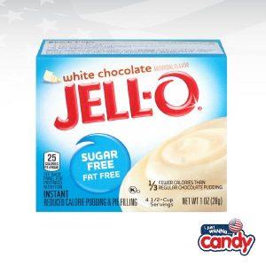 Jell-O Pudding Sugar Free White Chocolate