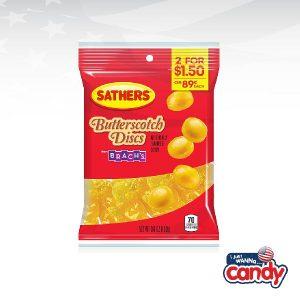 Sathers Butterscotch Discs
