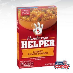 Hamburger Helper Cheesy Ranch Burger