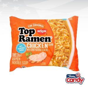 Nissin Top Ramen Noodle Soup Chicken