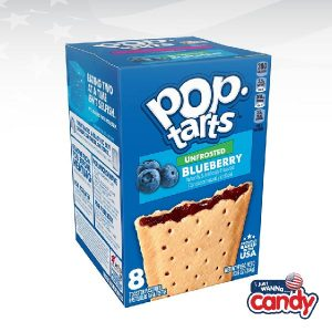 Pop Tarts Box Unfrosted Blueberry