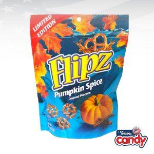 Flipz Halloween Pumpkin Spice Pretzels