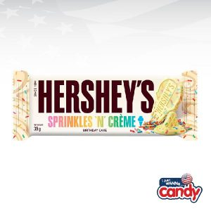 Hersheys Bar Sprinkles and Creme