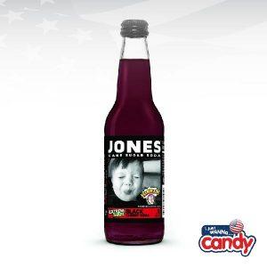 Jones Soda Warheads Black Cherry
