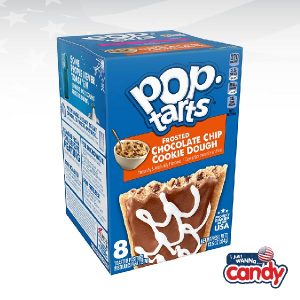 Pop Tarts Box Frosted Choc Chip Cookie Dough
