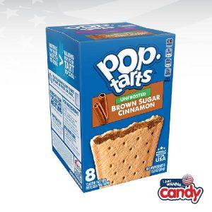 Pop Tarts Box Unfrosted Brown Sugar Cinnamon