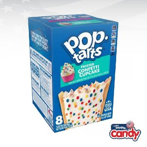 Pop Tarts Box Frosted Confetti Cupcake