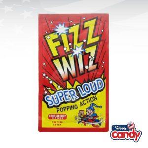 Fizz Wiz Strawberry Popping Candy