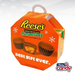 Reeses Peanut Butter Cup Minis Ornament Box