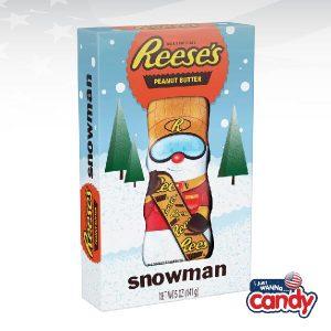 Reeses Peanut Butter Snowman