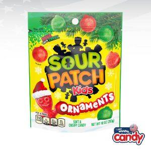 Sour Patch Kids Festive Ornaments