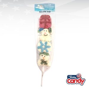 The Snowman and The Snowdog Decorated Mallow Pop