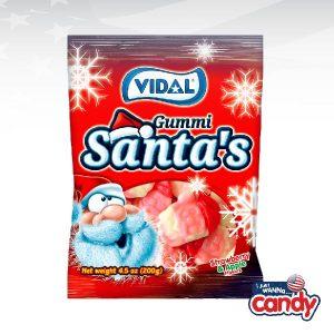 Vidal Gummi Strawberry & Apple Santas