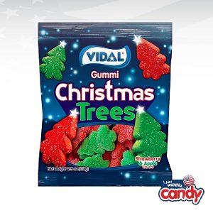 Vidal Gummi Sugared Christmas Trees