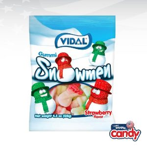 Vidal Gummi Sugared Snowmen