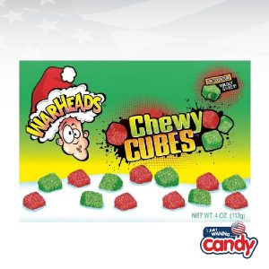 Warheads Chewy Cubes Holiday Theatre Box