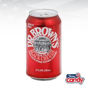 Dr Browns Natural Flavour Black Cherry Soda