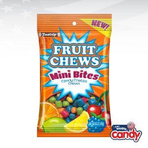 Tootsie Fruit Chews Mini Bites Peg Bag