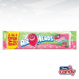 Airheads 2 in 1 Big Bar Strawberry Watermelon