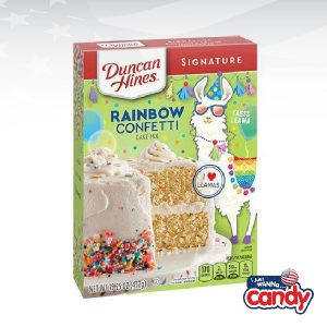 Duncan Hines Rainbow Confetti Cake Mix