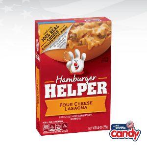 IJustWannaCandy Hamburger Helper Four Cheese Lasagna