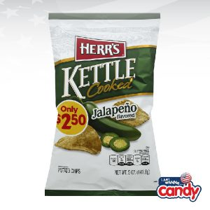 Herrs Jalapeno Kettle Cooked Potato Chips