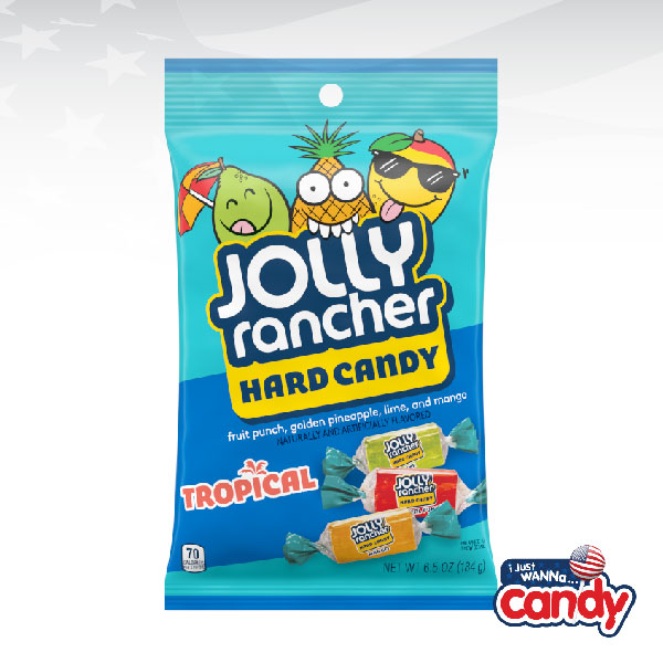 Jolly Rancher Hard Candy Tropical Peg Bag