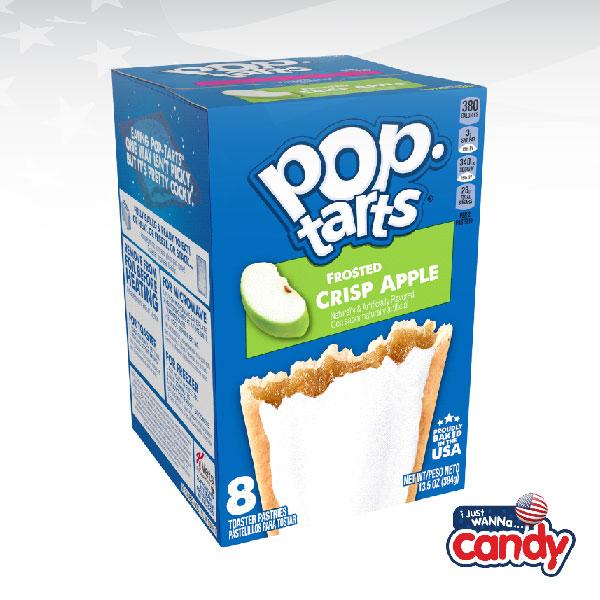 Pop Tarts Box Frosted Crisp Apple