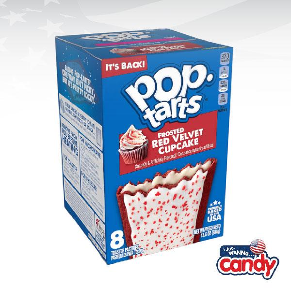 Pop Tarts Box Frosted Red Velvet