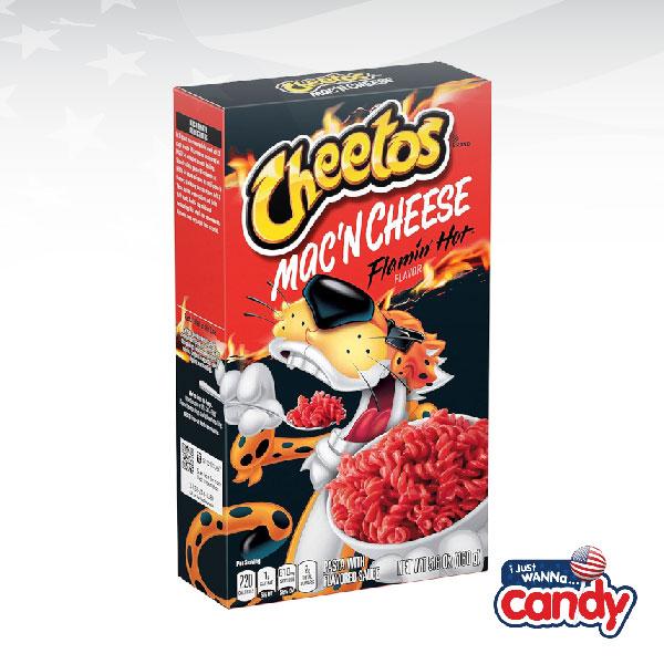 Cheetos Flamin Hot Mac n Cheese Box