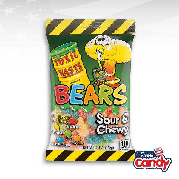 Toxic Waste Sour Gummy Bears